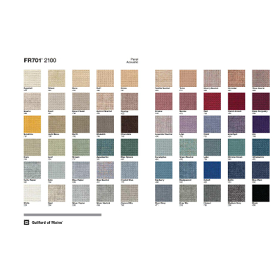 Guilford of Maine FR701 Fabric Swatches