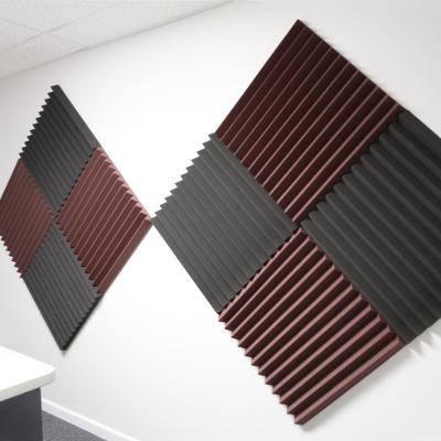 Acoustic foam panels