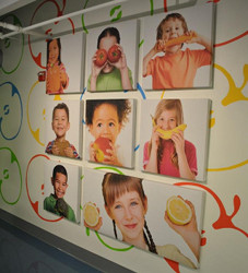 Kid-friendly Art Acoustic Panels offer bright, fun designs plus acoustical control.